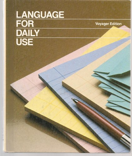 9780153167379: Language For Daily Use, Voyager Edition