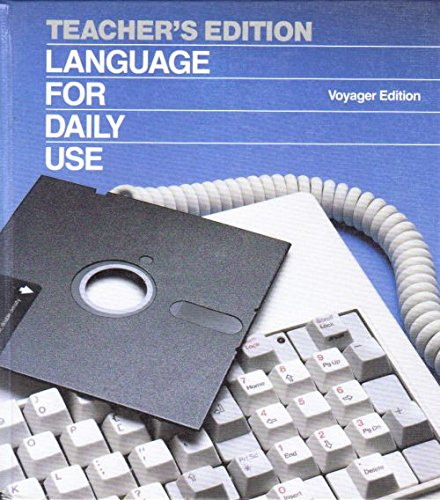 9780153167485: Teacher's Edition Language For Daily Use