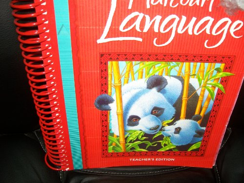 9780153178429: Harcourt Language Arts, Grade 3, Teacher Edition