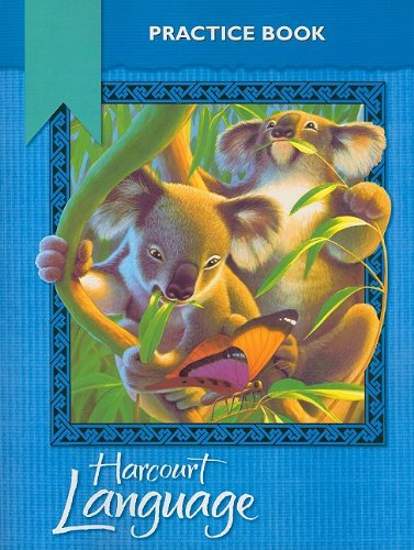 9780153179846: Harcourt School Publishers Language: Practice Workbook Grade 2
