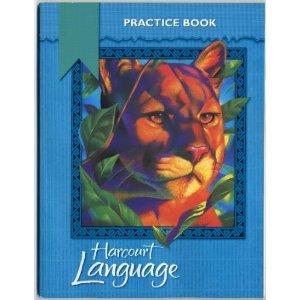 9780153179860: Harcourt Language: Practice Workbook, Grade 4