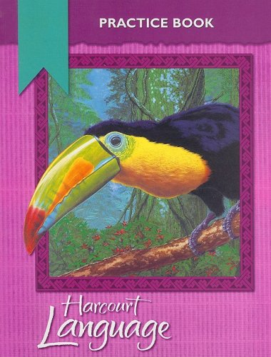9780153179877: Harcourt School Publishers Language: Practice Workbook Grade 5