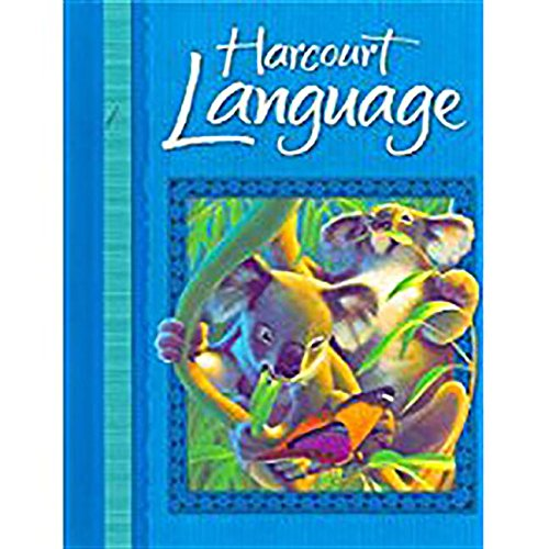 9780153190940: Harcourt School Publishers Language: Student Edition Grade 2 2002