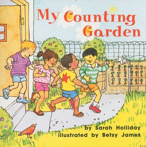 9780153196065: Harcourt School Publishers Math: Reader Grade K Counting Garden