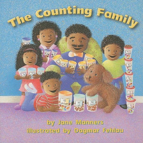 9780153196164: The Counting Family (Math 02 Y010) (Harcourt School Publishers Math)