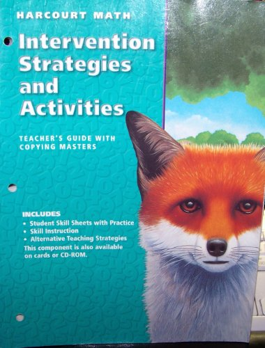 9780153198489: Harcourt Math Intervention Strategies and Activities, Gr. 5, Teacher's Guide