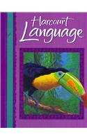 9780153202438: Harcourt School Publishers Language Texas: Student Edition Grade 5 2002
