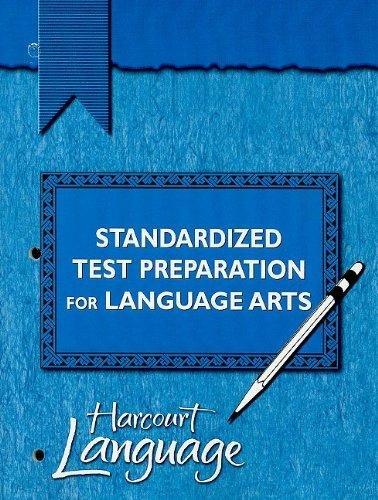 9780153203305: Harcourt Lenguaje: Preparación para pruebas estandarizadas Teacher#s Edition Grade 4
