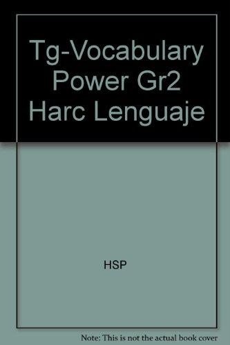 Tg-Vocabulary Power Gr2 Harc Lenguaje
