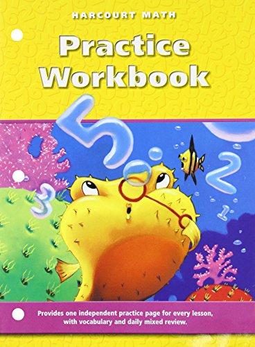 9780153204364: Harcourt Math, Grade 2: Practice Workbook