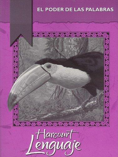 9780153206153: Harcourt Lenguaje: El Poder de las Palabras, Grado 5 (Lenguaje 02 Y013)