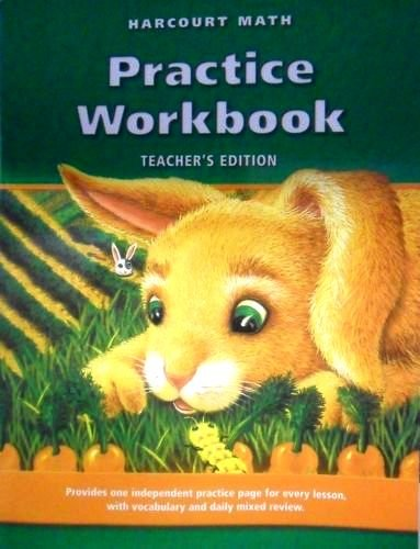 9780153206597: Harcourt Math : Practice Workbook: National California Edition