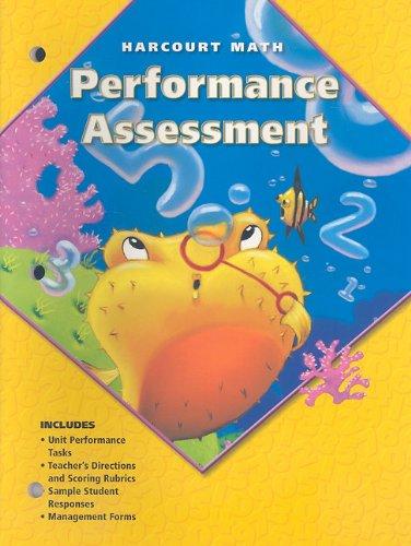 9780153206993: Performance Assessment, Harcourt Math: Grade 2