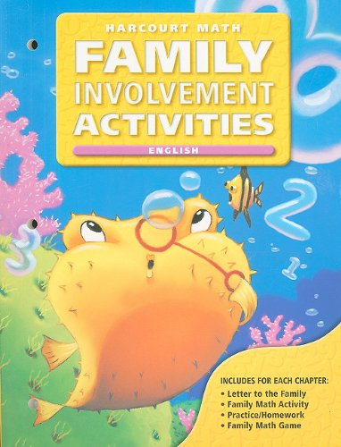 California Harcourt Math Family Involvement Activities: Grade 2: HSP
