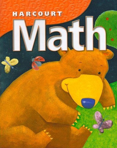9780153207440: Harcourt Math, Student Workbook, Grade K