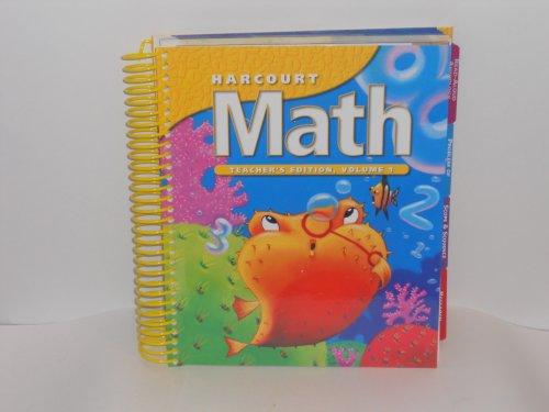 9780153207549: Harcourt Math, Teacher Edition, Grade 2, Vol. 1