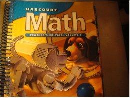 9780153207563: Harcourt Math, Grade 3, Vol. 1, Teacher's Edition