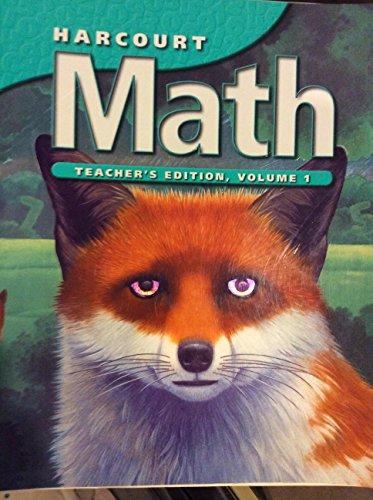 9780153207600: Harcourt Math Grade 5 Teacher's Edition Volume 1