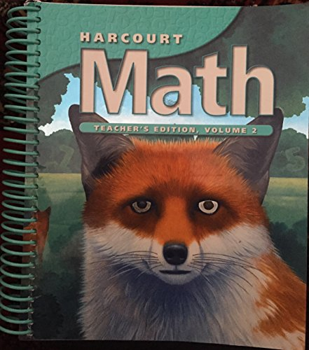 9780153207617: Teacher Edition Grade 5 Vol 2 Harcourt Math 2002