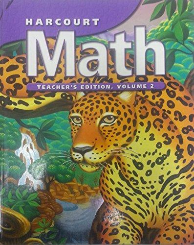 9780153207631: Harcourt Math, 6th Grade, Vol. 2, Teacher Edition