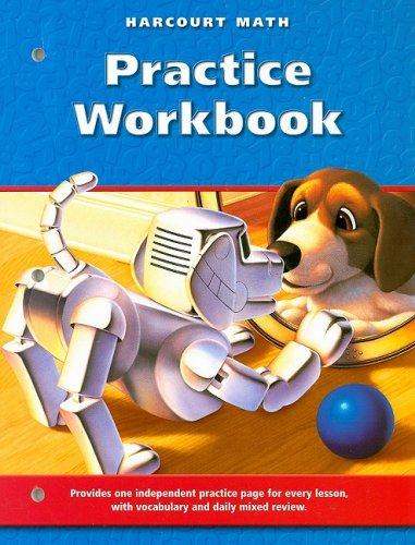 9780153207686: Harcourt Math: Practice Workbook, Grade 3 (Harcourt School Publishers Math)