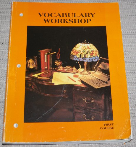9780153207716: Vocabulary Workshop, First Course [Benchmark Edition]