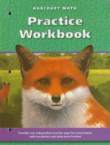 9780153207853: Harcourt School Publishers Math: Practice Workbook, Grade 5