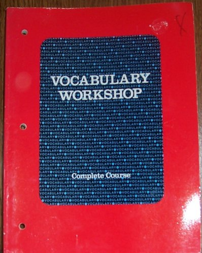 9780153207938: Vocabulary Workshop Complete Course (Vocabulary Workshop, Complete)