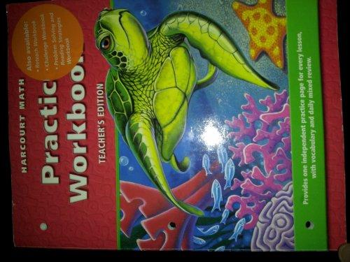 9780153207969: Harcourt Math: Practice Workbook - Grade 4 (Teacher's Edition)