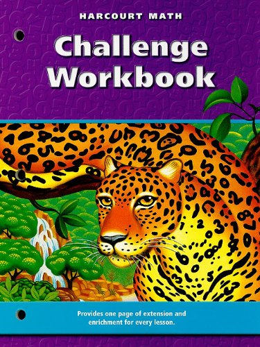 9780153208225: Harcourt Math Challenge Workbook, Grade 6