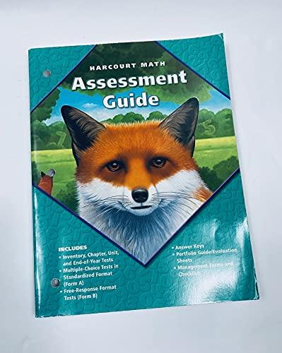 9780153208379: Harcourt Math, Assessment Guide, Grade 5