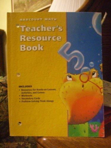 9780153208744: Harcourt Math: Teacher's Resource Book (grade 2)
