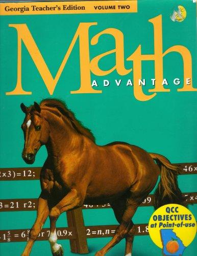 Math Advantage: Georgia Teacher's Edition Volume 2: n/a