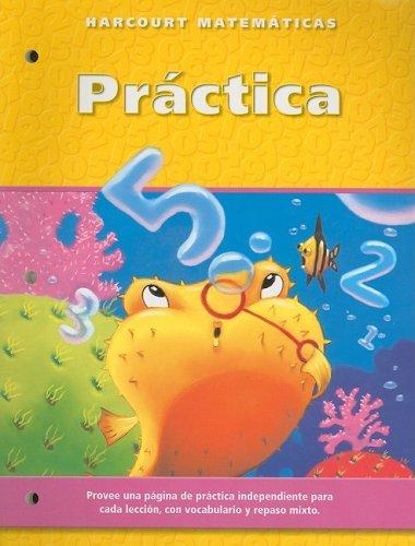 9780153216305: Harcourt Matematicas Practica, Grado 2 (Spanish Edition)