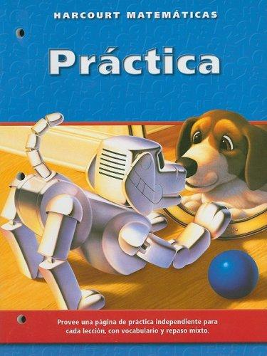 9780153216312: Harcourt Matematicas Practica, California, Grado 3 (Spanish Edition)