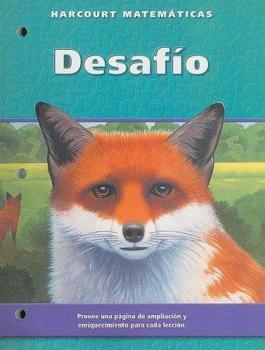9780153216473: Harcourt Matematicas: Edicion de California, Desafio, Grado 5 (Spanish Edition)