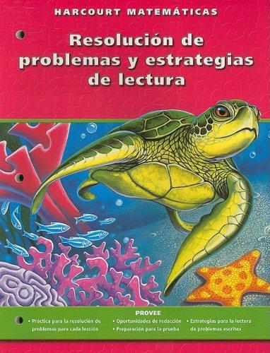 9780153216718: Harcourt Matematicas: Edicion de California, Resolucion de Problemas y Estrategias de Lectura, Grado 4 (Spanish Edition)