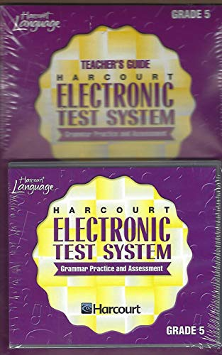 9780153222535: Harcourt School Publishers Language: Schedule Cd-Rom Package Electronic Test System Grade 5 (Language Tech 02 Y012)