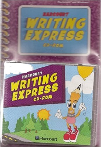 9780153225512: Harcourt School Publishers Language: Writing Express Cd-Rom Package Grade 2