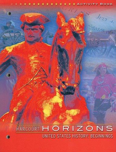 9780153226038: Harcourt School Publishers Horizons: Activity Book Grade 4 Beginnings/1877