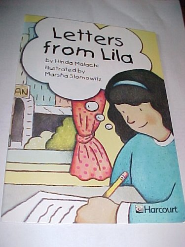 9780153231056: Harcourt School Publishers Trophies: Advanced-Level Grade 2 Letters from Lila (Trophies 03)