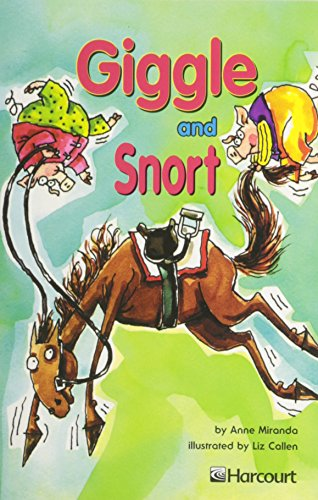 9780153231612: Harcourt School Publishers Trophies: On Level Individual Reader Grade 3 Giggle And Snort