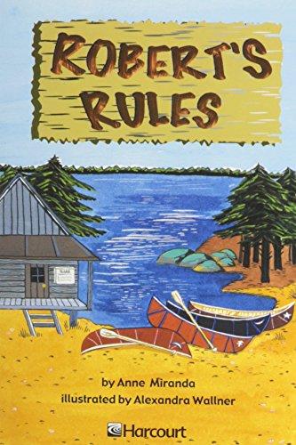 9780153231919: Harcourt School Publishers Trophies: Advanced-Level Grade 3 Robert's Rules