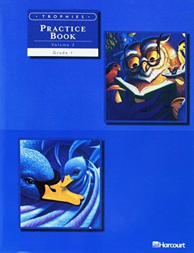 9780153235054: Trophies: Practice Book, Volume 2 Grade 1