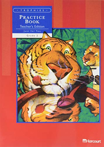 9780153235139: Practice Book, Teacher's Edition, Just for You, Grade 2, Vol. 1 (Trophies)