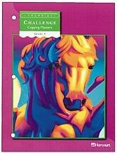 9780153235252: Harcourt School Publishers Trophies: Challenge Copy Master G4 S