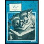 9780153235504: Harcourt School Publishers Trophies: Spelling Practice Book Teacher's Edition Grade 1