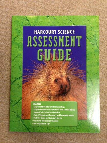 9780153237072: Harcourt Science : Assesssment Guide