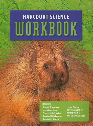9780153237133: Harcourt Science: Student Edition Workbook Grade 3