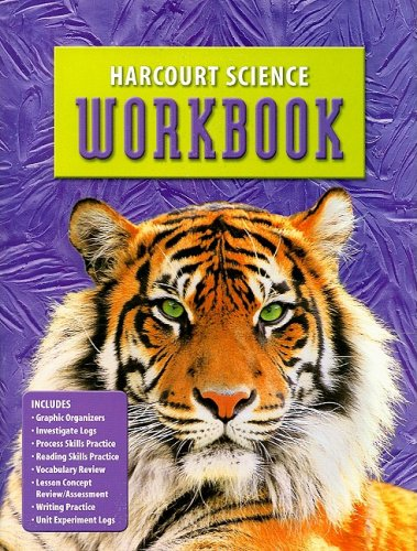9780153237164: Harcourt Science Workbook, Grade 6
